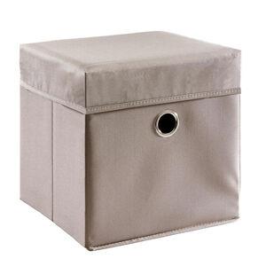 My Baby Lou BOX NA HRAČKY - šedohnědá