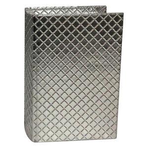 Ambia Home BOX VE TVARU KNIHY - barvy stříbra