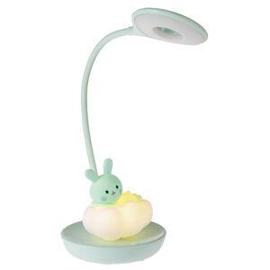 My Baby Lou DĚTSKÁ STOLNÍ LED LAMPA, dotykový stmívač, 13/36 cm - světle zelená
