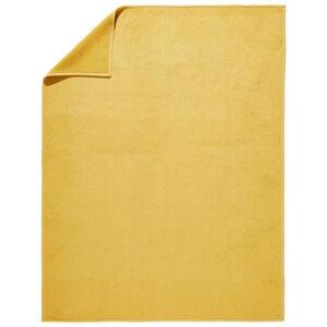 Novel PŘÍJEMNÁ DEKA, bavlna, 150/200 cm - žlutá