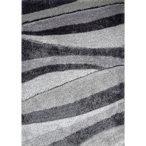 Novel KOBEREC S VYSOKÝM VLASEM, 80/150 cm, šedá - šedá