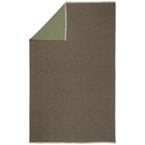 Novel MĚKKÁ DEKA, bavlna, 220/240 cm - hnědá, zelená