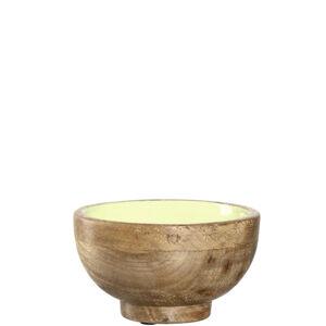 Leonardo MISKA, mangové dřevo, - zelená