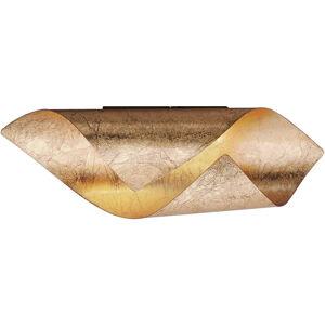 NÁSTĚNNÉ LED SVÍTIDLO, 31/10/10 cm - barvy zlata