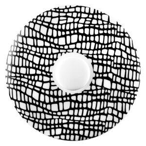 Seltmann Weiden PODŠÁLEK NA ESPRESSO, porcelán - černá