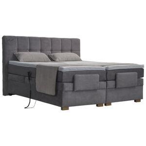 Blanar POSTEL BOXSPRING, 180/200 cm, textil, světle šedá - světle šedá