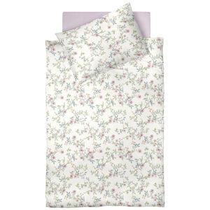 Fleuresse POVLEČENÍ, makosatén, krémová, růžová, bílá, 140/200 cm - krémová, růžová, bílá