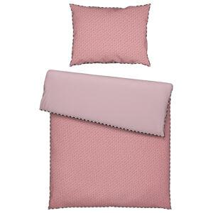 Esprit POVLEČENÍ, renforcé, růžová, černá, bílá, starorůžová, 200/200 cm - růžová, černá, bílá, starorůžová