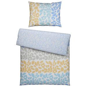 Esprit POVLEČENÍ, satén, modrá, žlutá, jílová barva, světle šedá, světle modrá, béžová, 140/200 cm - modrá, žlutá, jílová barva, světle šedá, světle m