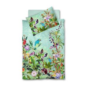 Fleuresse POVLEČENÍ, makosatén, modrá, zelená, vícebarevná, 140/200 cm