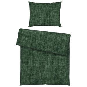 Esposa POVLEČENÍ, flanel, tmavě zelená, 140/200 cm - tmavě zelená