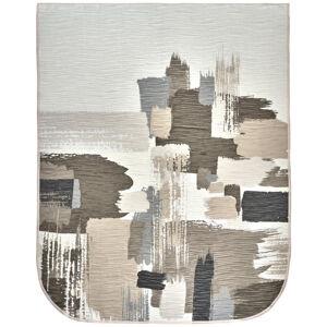 Novel PŘEHOZ, polyester, 220/270 cm - šedá, béžová