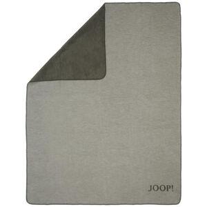 Joop! PŘÍJEMNÁ DEKA, bavlna, 150/200 cm - šedá