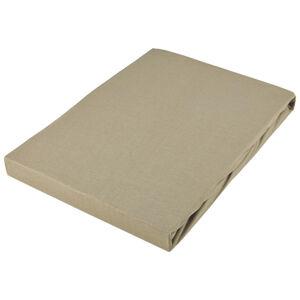 Novel PROSTĚRADLO NA BOXSPRING, béžová, 180-200/200-220 cm - béžová