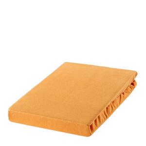 Estella PROSTĚRADLO NAPÍNACÍ, nit - žerzej, medová, pískové barvy, 100/200 cm - medová, pískové barvy