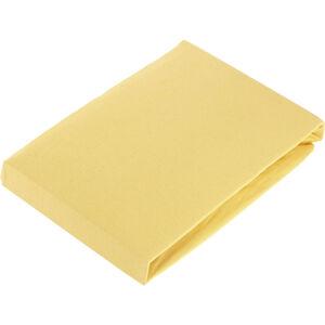Fleuresse PROSTĚRADLO NAPÍNACÍ - žlutá