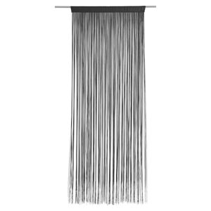 Boxxx PROVÁZKOVÁ ZÁCLONA, 90/245 cm, černá - černá