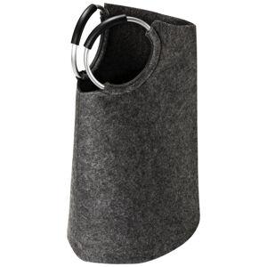 PYTEL NA PRÁDLO, šedá, černá, barvy hliníku - šedá, černá, barvy hliníku