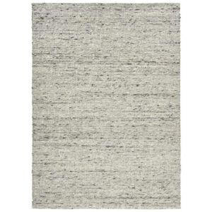 Linea Natura RUČNĚ TKANÝ KOBEREC, 70/130 cm, šedá, černá