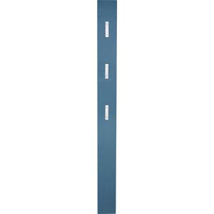 Xora ŠATNÍ PANEL, petrolej, 15/170/4 cm - petrolej