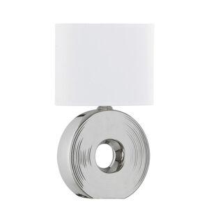 STOLNÍ LAMPA, E14, 38 cm - bílá
