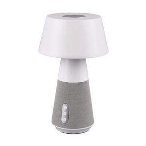 STOLNÍ LED LAMPA, dálkový ovladač, 17/28 cm - bílá