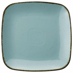 Ritzenhoff Breker TALÍŘ JÍDELNÍ, keramika, 27/27 cm - světle modrá