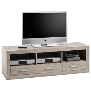 Xora TV DÍL, barvy dubu, Sonoma dub, 147/49/45 cm - barvy dubu, Sonoma dub
