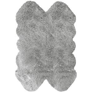 Novel UMĚLÁ KOŽEŠINA, 110/160 cm, barvy stříbra - barvy stříbra