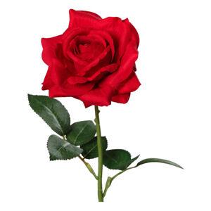 UMĚLÁ KVĚTINA růže 68 cm - červená