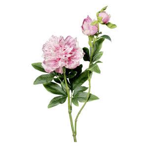 UMĚLÁ KVĚTINA chryzantéma 72 cm - fialová, růžová, šeříková
