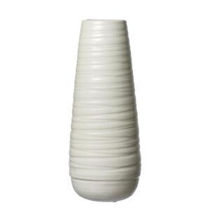 Ritzenhoff Breker VÁZA, keramika, 36 cm - bílá