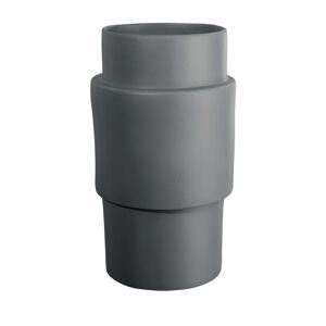 ASA VÁZA, keramika, 33 cm - šedá
