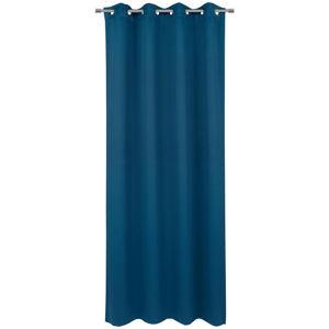 Esposa ZÁVĚS S KROUŽKY, zatemnění, 140/245 cm - tmavě modrá