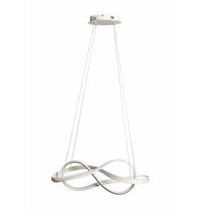 Ambiente ZÁVĚSNÉ LED SVÍTIDLO, 78/25/120 cm - opál, bílá