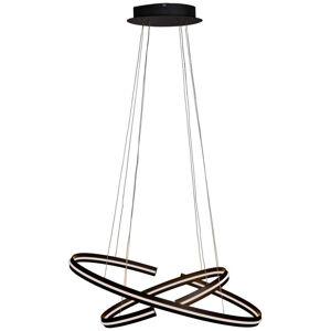 Ambiente ZÁVĚSNÉ LED SVÍTIDLO, 80/40/160 cm - černá