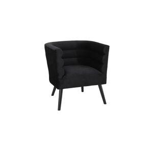 Ambia Home ŽIDLE, černá, šeříková