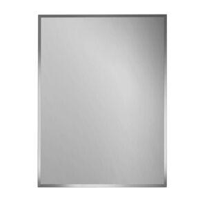 Boxxx NÁSTĚNNÉ ZRCADLO, 39/110/0,3 cm - barvy stříbra