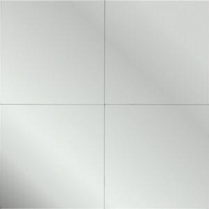 Boxxx ZRCADLO, 30/30/0,3 cm - barvy stříbra